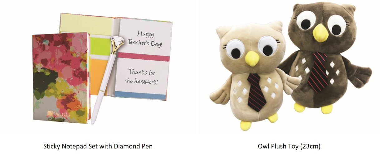 Personalized yellow owl notepad owl with book notepad makes a great teacher gift