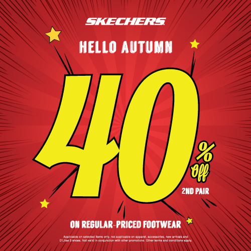 586d886e75d46 40% off 2nd Pair at Skechers · Deals   Promotions ...