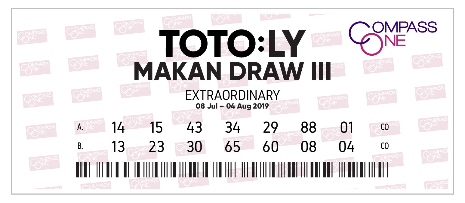 TOTO:LY MAKAN DRAW III